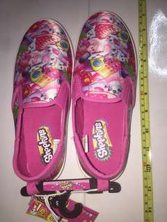 Shopkins kids canvas shoes ( US size 3 ) A