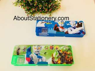 Simple magnet cover pencil box ultraman taro/ zero