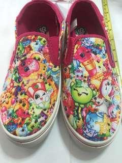 Shopkins kids canvas shoes ( US size 3 ) B