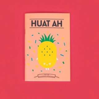 Strangely Singaporean Notebook - Huat Ah