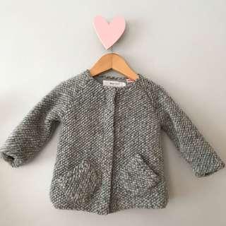 Zara baby coat