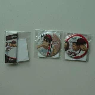 [$6 FOR ALL!!] Kuroko no Basuke - J-World canbadge - Kagami Taiga