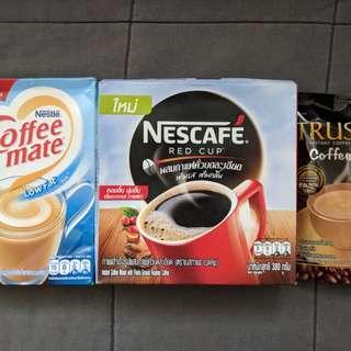 3x Thailand Coffees (Sugar Free, Low Fat)