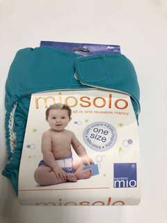 Cloth reusable diapers