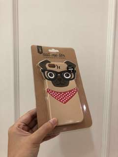 Nerdy Pug Silicone iPhone 6/6s Case