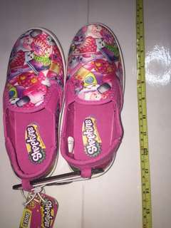 Shopkins kids canvas shoes ( US size 1 ) E