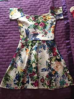 Mds floral dress S