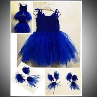 Blue Ballerina Tutu Set