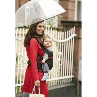 BNIB Manduca Blackline Red 100% Organic Cotton Baby Carrier (newborn to 3 years old)
