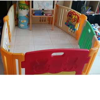 Haenim playard ( 6 panel) with 1 Melody play panel+ extra 1 more play panel