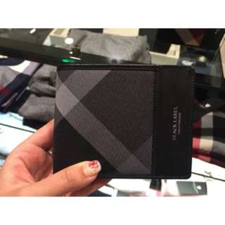 BNIB Japan Black Label Crestbridge Wallet