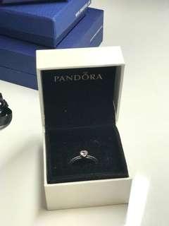 Pandora Rose Pink Sapphire Ring