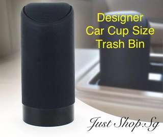 Designer Car Cup Size Bin