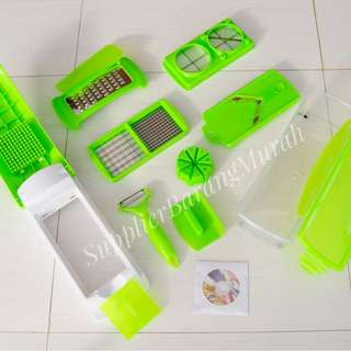 Nicer Dicer Plus ( genius chopper fruit vegetable slicer