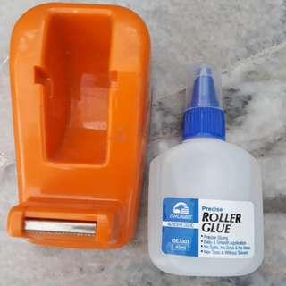 Tape Dispenser & Glue