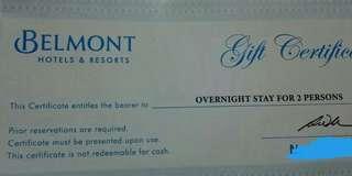 Belmont Hotel GC RUSH