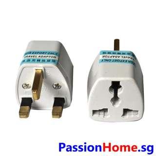 3-Pin Power Adaptor UK HK SG MY