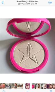 jeffree star highlighter in ice cold