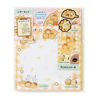 Japan Sanrio Sanrio Characters Letter Set Bread