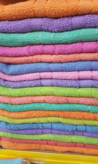 Jumbo size bath towel &sheet ready stock