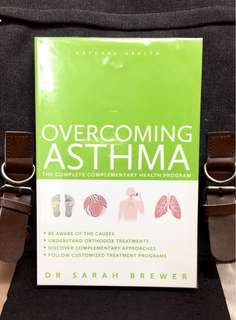 《Bran-New + Take Control Of Your Asthma With Easy-To-Follow Health Program 》Dr Sarah Brewer - OVERCOMING ASTHMA : The Complete Complementary Health Program