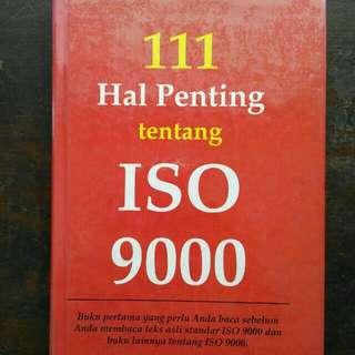 Buku 111 Hal Penting tentang ISO 9000