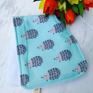 Regular sized burp cloth