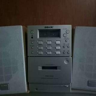 Sony Mini component (radio, tape,  cd)