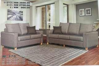 Sofa 1+2+3