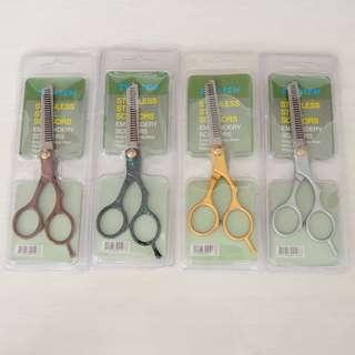 Gunting Sasak Stainless no.1  ( salon potong rambut sisir takeda