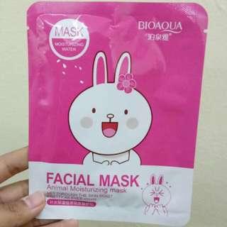 Facial Mask Moisturizing Line
