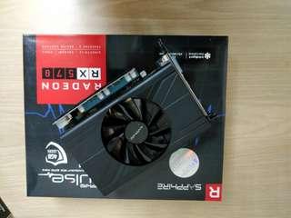 Graphic card Radeon Sapphire 570 4gb