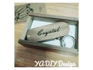 DIY USB 訂制人名木制USB手指