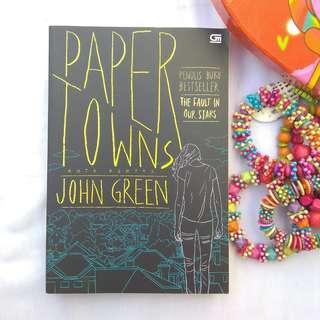 PAPER TOWNS BY JOHN GREEN (TERJEMAHAN)