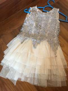 Princess Chiffon Lace Dress