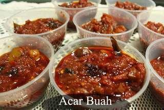 Delicious Acar buah