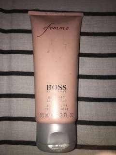 Hugo boss perfumed body lotion