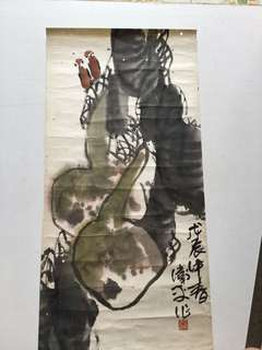 Chinese painting 79x36cm
