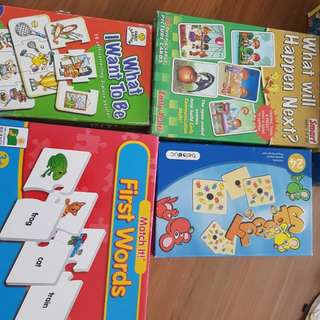 Various items for early learners