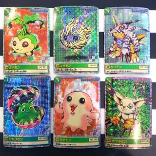 Digimon Shiny Cards