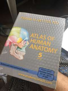 Frank Netter's Atlas of Human Anatomy