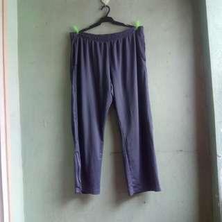 CHAMPION side zipper track pants (gray)