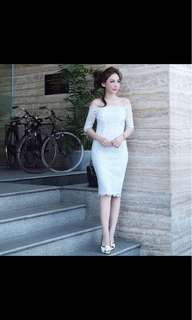 Rossie dress white