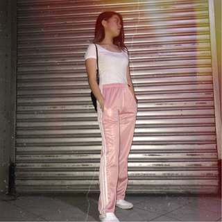 Pastel Pink Track Pants