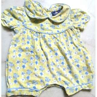 0-3 Months Papoose Original Baby Rompers Dress