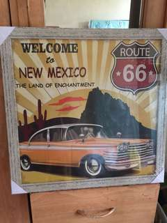 route 66 frame