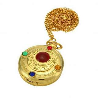 Sailor Moon locket watch Necklace
