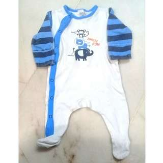 0-3 Months Baby Sleepsuit