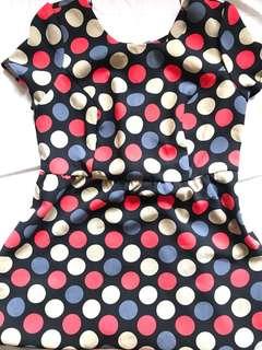 Forever21 Plus Size Polka Dot Dress