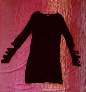 Black Formal Dress Medium